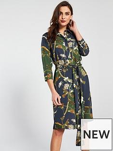 v-by-very-chain-shirt-dress-printed