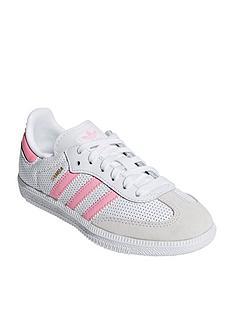 adidas-originals-samba-childrens-trainers-whitepink