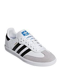 the latest 24dca bd739 adidas Originals Samba Junior - White Black