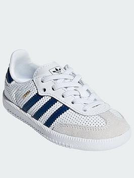 adidas-originals-samba-infant-trainers-whiteblue