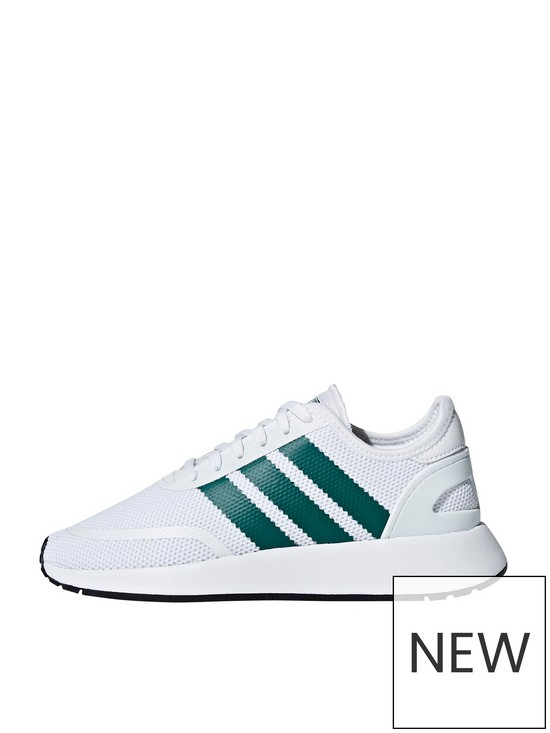 buy online 94171 9268d adidas Originals N-5923 Junior Trainers - White/Green | very.co.uk