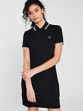 fred-perry-twin-tipped-pique-dress