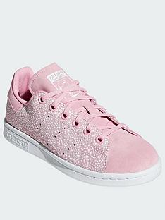 df5ef71ef2037 adidas Originals Stan Smith Junior (lace) - Pink