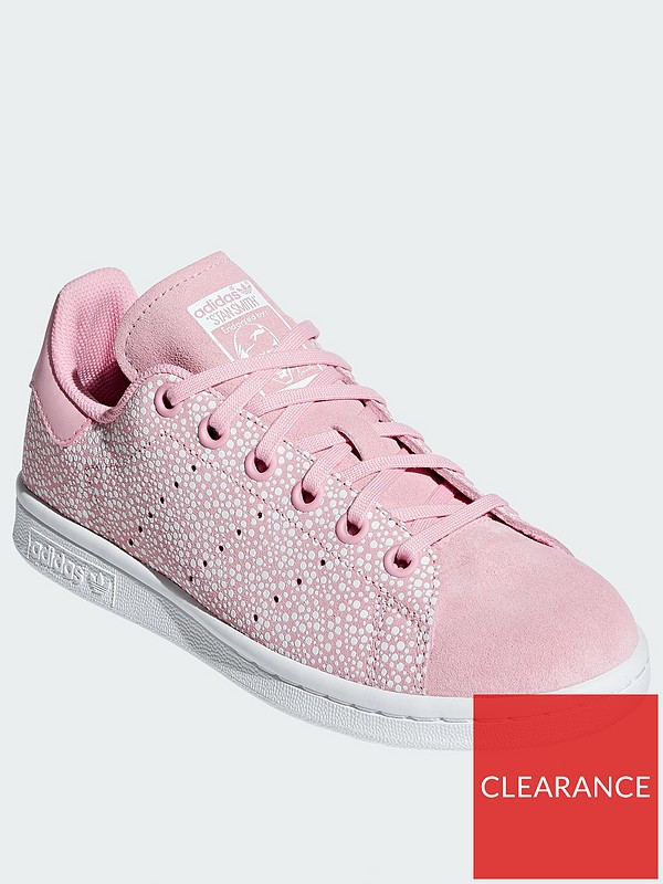 new concept 754bd 6bd62 Stan Smith Junior (lace) - Pink