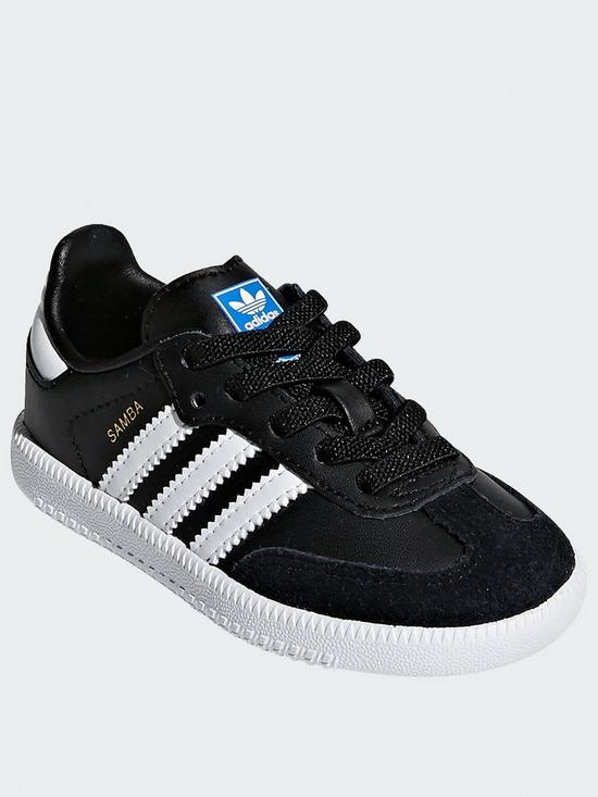 fbf582972e61 adidas Originals Samba Infant - Black