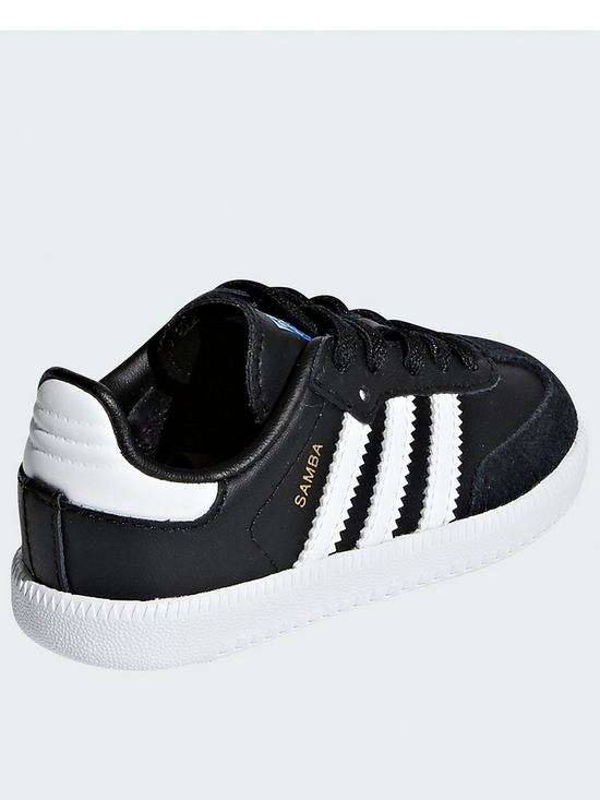 fbb57f6b0c2 ... adidas Originals Samba Infant - Black. View larger