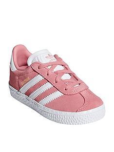 1c5f3cbb915cd adidas Originals Gazelle Infant Trainers