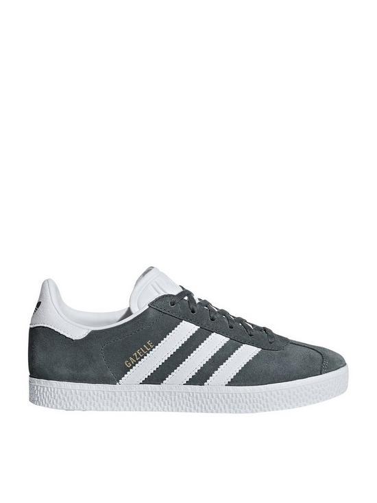 check out 23dca 7fe02 adidas Originals Gazelle Junior Trainers