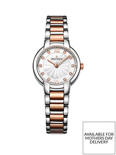 dreyfuss-co-dreyfuss-silver-and-diamond-set-dial-two-tone-stainless-steel-bracelet-ladies-watch