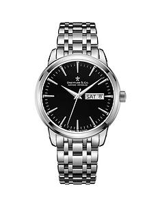 dreyfuss-co-1890-black-day-date-dial-stainless-steel-bracelet-mens-watch