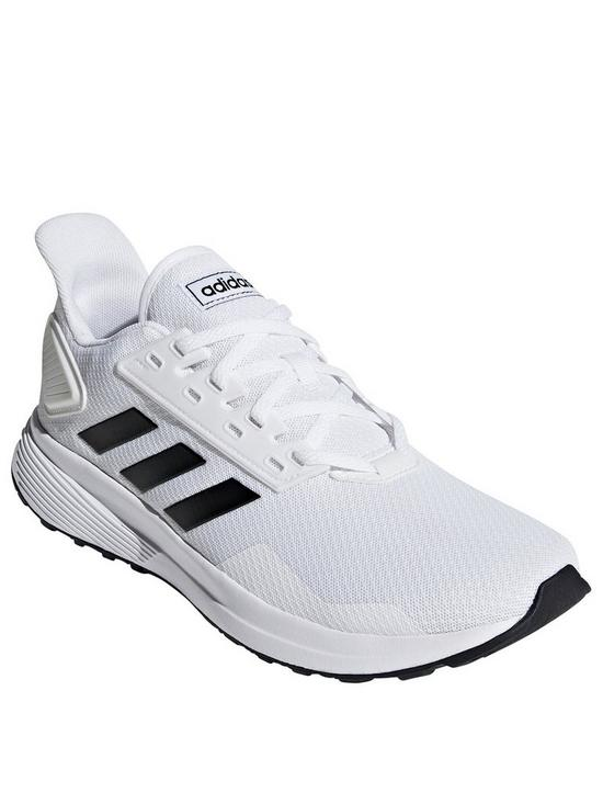 adidas Duramo 9 Trainers - White Black  0ed28944c92