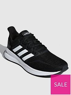 adidas-falcon-trainers-black