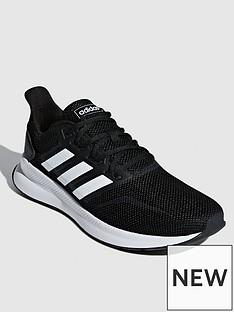 adidas-run-falcon-trainers-blackwhite