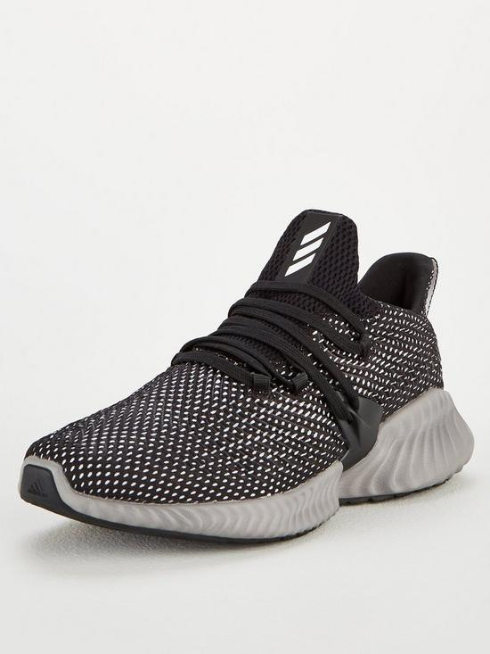 1165d0238 adidas Alphabounce Instinct Trainers - Black White