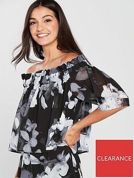 religion-religion-storm-bardot-floral-prnt-double-layer-jumpsuit