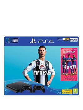 playstation-4-fifa-19-500gb-console-bundle-with-second-dualshock-4-controller-and-optional-extras