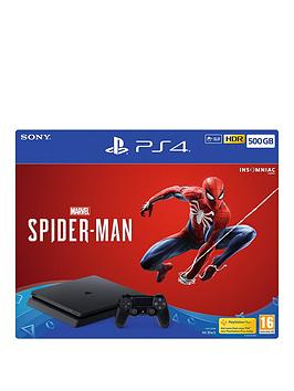 playstation-4-marvels-spider-man-500gb-console-bundle-with-optional-extras