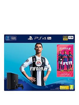 playstation-4-pro-fifa-19-ps4-pro-1tb-bundle-with-optional-extras
