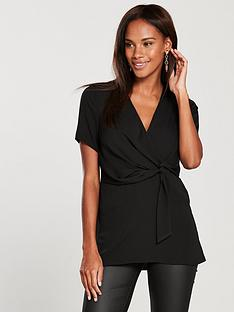v-by-very-wrap-longline-tunic-top-blacknbsp