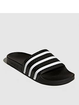 adidas-originals-adilette-slides-black