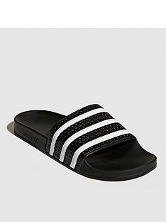 adidas-originals-adilettenbspsliders-black