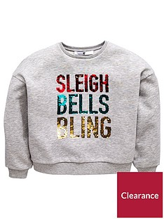 v-by-very-girls-reversible-sequin-christmas-sleigh-bells-bling-sweatshirt-grey