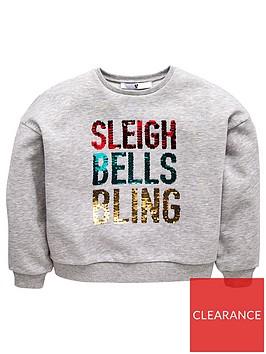 v-by-very-girls-reversible-sequin-christmas-sleigh-bells-bling-sweatshirt-grey