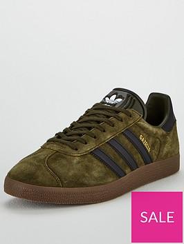 adidas-originals-gazelle-khakiblack