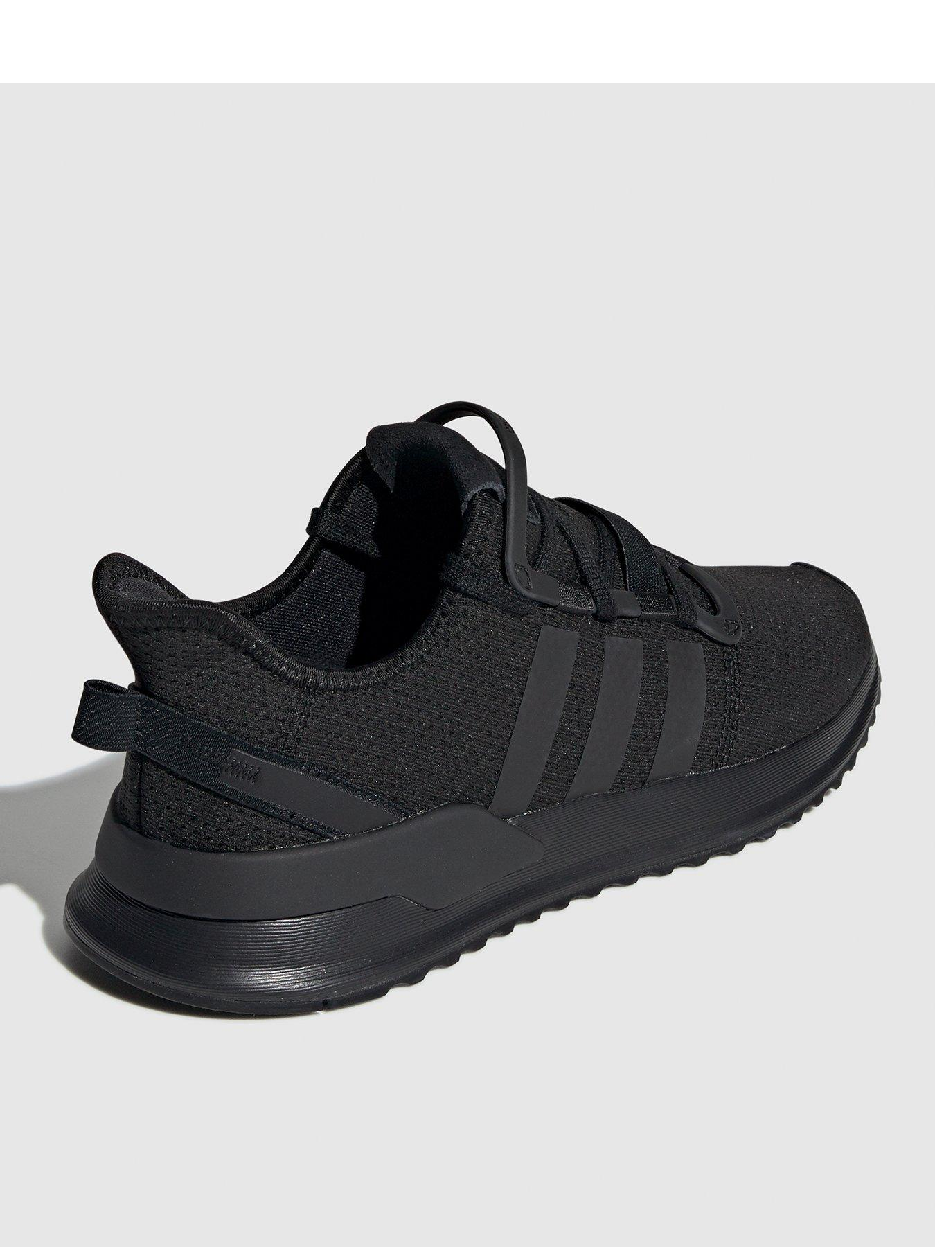 all black adidas trainers womens cheap online