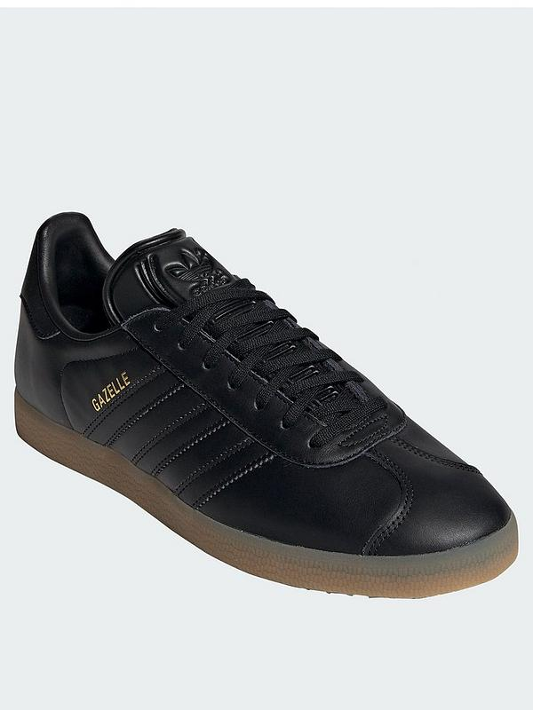adidas originals gazelle trainers in black 4671c1