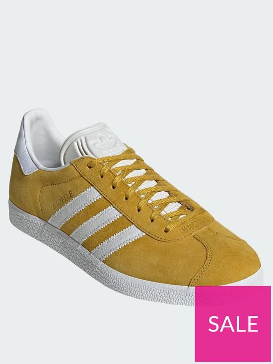 2c5f8565e103 adidas Originals Gazelle Trainers - Yellow | very.co.uk