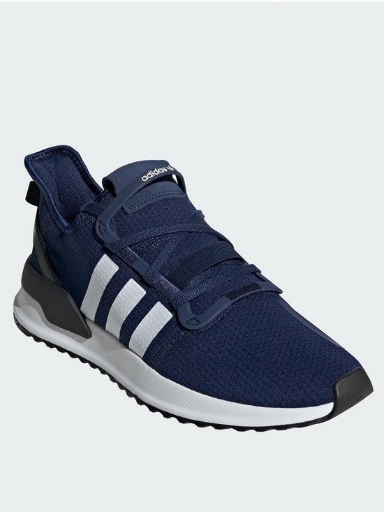 lowest price 52131 e1bd0 adidas Originals U Path Run - Navy White
