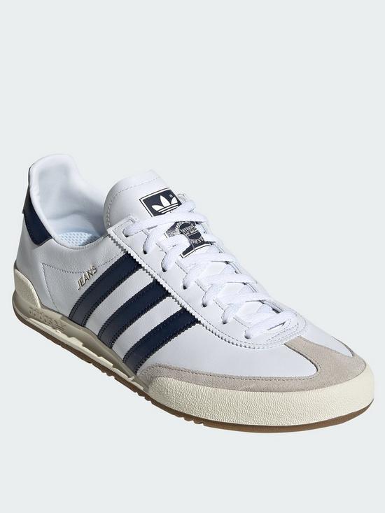 best value c4efe fbbb2 adidas Originals Jeans Trainers - White