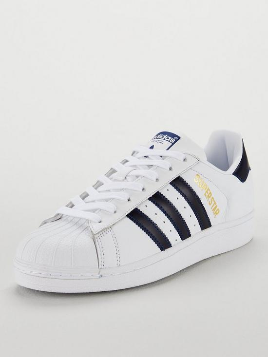 adidas Originals Superstar Trainers - White