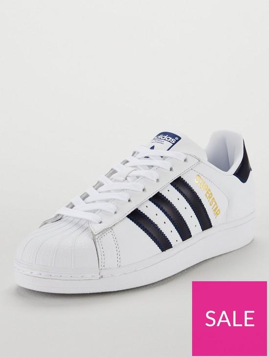 innovative design fe62f e8da3 adidas Originals Superstar Trainers - White
