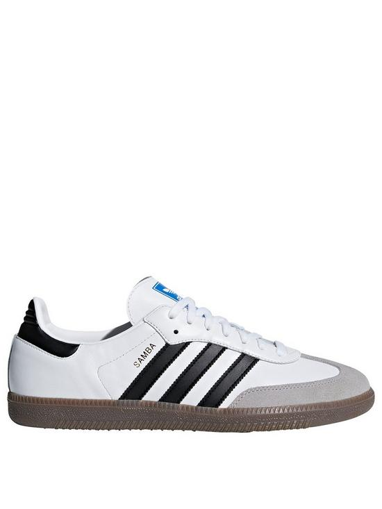 adidas Originals Samba OG Trainers - White  45c856267