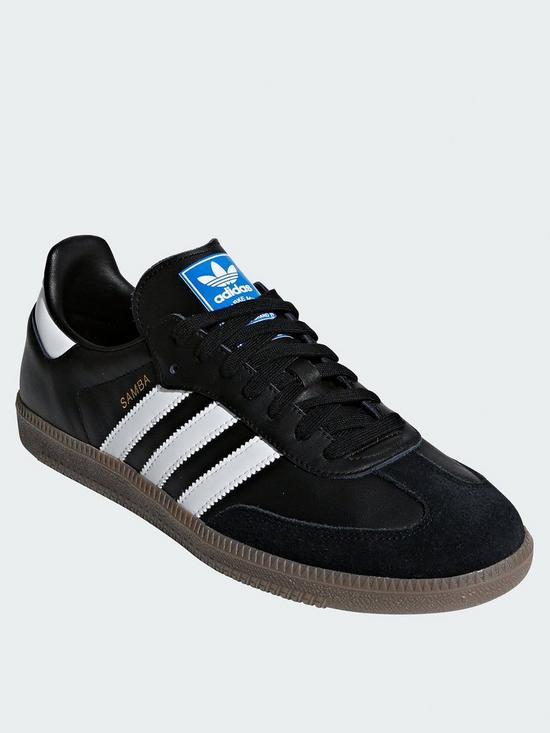 sports shoes ec6e7 bf3b7 adidas Originals Samba OG Trainers - Black