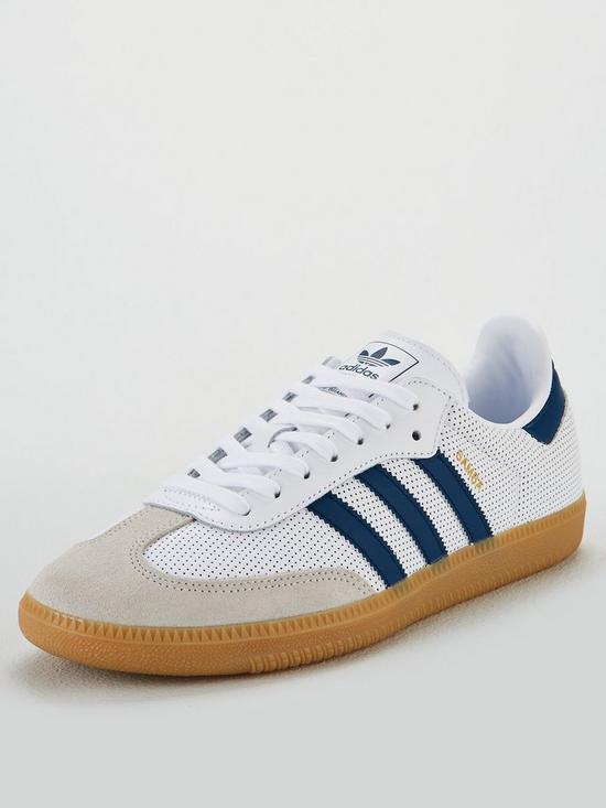8b0b27e8a3d adidas Originals Samba OG - White Blue