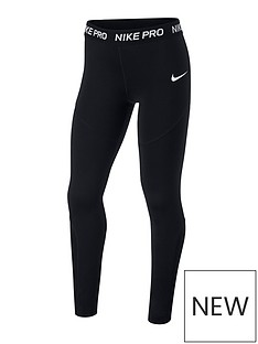 nike-girls-leggings-black