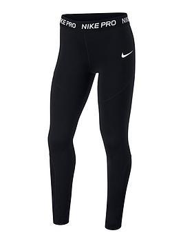 nike-girls-leggings-black