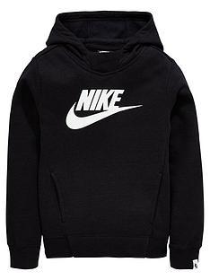 nike-sportswear-girls-pullovernbsphoodienbsp--blacknbsp