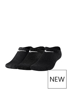 nike-childrens-3-pack-performance-no-show-training-socks-black