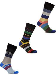 ps-paul-smith-mensnbsp3-pack-mixed-stripe-socks--nbspmulti