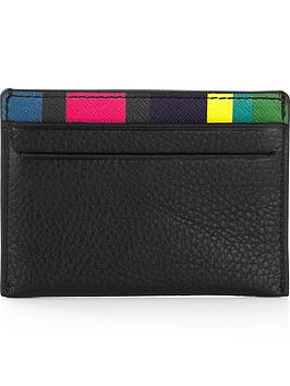 ps-paul-smith-mens-stripe-leather-credit-card-holdernbsp--black