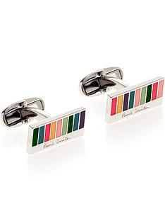 ps-paul-smith-mens-classic-stripe-cufflinksnbsp--silver