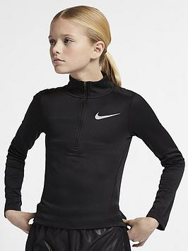 nike-girls-long-sleeve-running-top-black