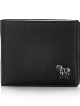 ps-paul-smith-mens-zebra-logo-billfold-leather-wallet-black
