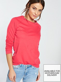 v-by-very-loop-back-basic-sweat-pink