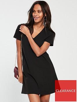 v-by-very-crepe-swing-dress-black