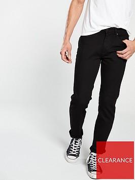 very-man-straightnbspfit-jeans-black
